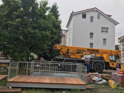 Anbau Balkone in Hanau