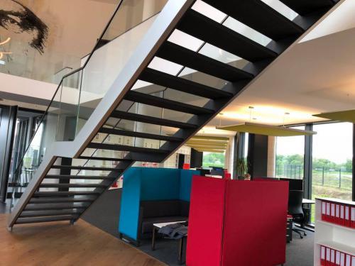 Treppe Architektenbüro in Hamm